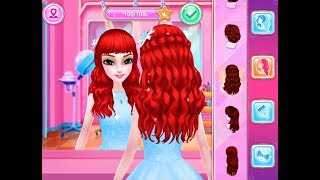 Best Games for Kids Prom Queen iPad Gameplay HD Spa Care Makeup colors Hair makeover Care Nails Care