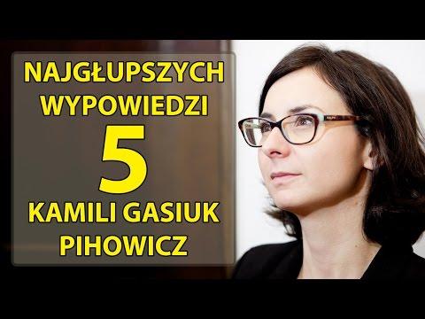 5 najgłupszych wypowiedzi Kamili Gasiuk-Pihowicz.