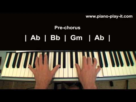 Rolling In The Deep Adele Piano Tutorial