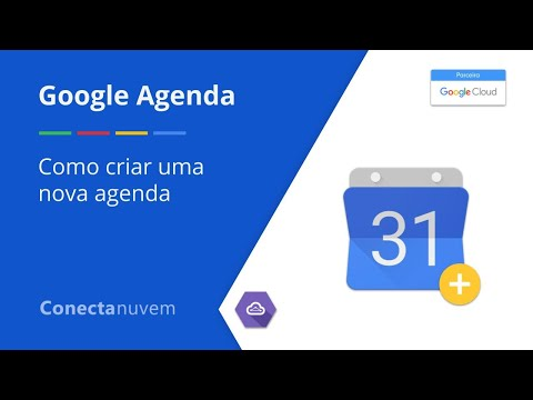 Como criar uma nova agenda - Google Agenda