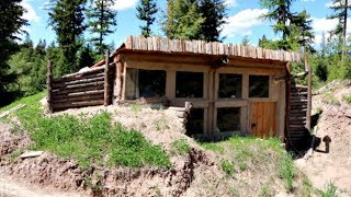 Earthsheltered Tiny House for Sale in Wilderness