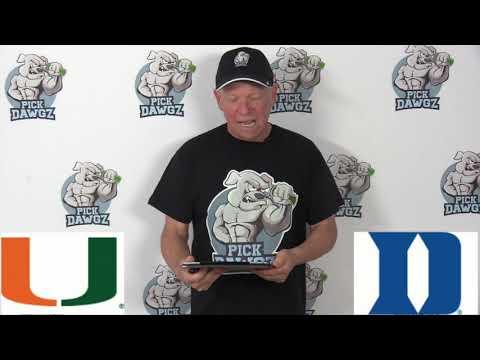 Duke vs Miami 1/21/20 Free College Basketball Pick and Prediction CBB Betting Tips