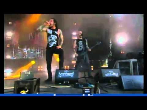 As I Lay Dying - Through Struggle  [Wacken 2011]