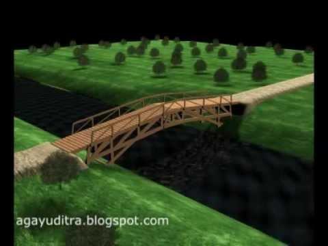 93 Gambar Miniatur Jembatan Stik Es Krim