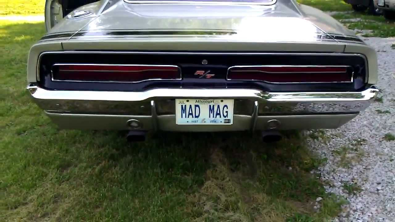 1969 Dodge Charger R T 440 Magnum Youtube