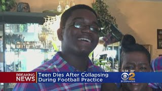 High School Student Dies After Collapsing During Football Practice