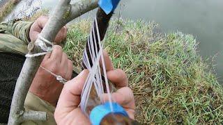 Поставушки на хищника своими руками Просто и без затрат Рыбалка на реке Озерна