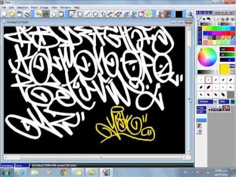 Abecedario De Graffiti How To Tag Graffiti Mp4 Youtube