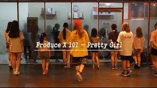 Produce X 101 - Pretty Girl K-POP COVER BY RIA