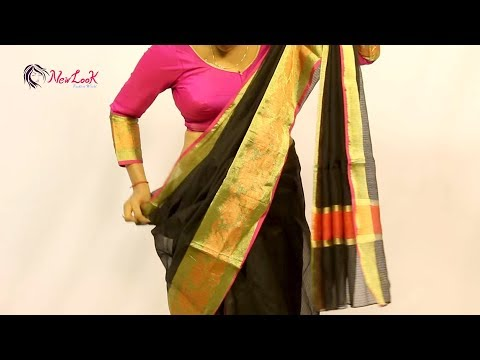 Learn To Get Perfect Saree Pleats || How To Wear Saree?