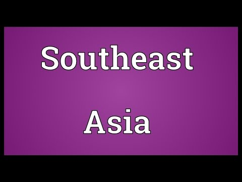 Southeast Asia Meaning