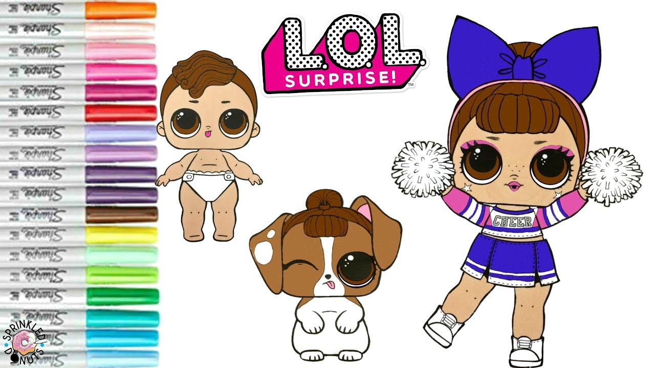 Mode-, Spielpuppen & Zubehör LOL Surprise Doll Cheer ...