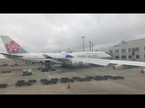 China Airlines CI 0703 Taipei to Manila