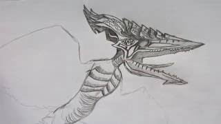 How to Draw Boss Battle Pteranodon, Valkyrie 77, Part 1.