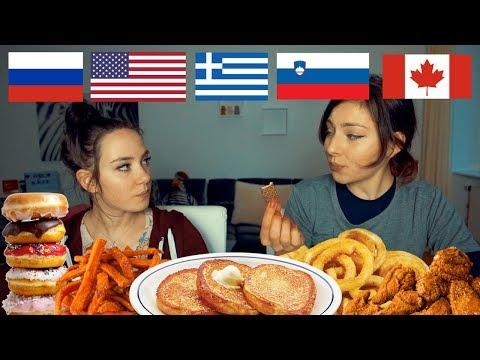 GIRLS VS CHEATDAY | TASTE THE WORLD TASTETEST