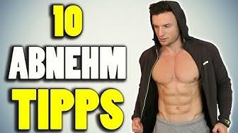 DIE 10 BESTEN TIPPS ZUM ABNEHMEN | Einfach und effektiv!