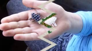 Уроки бисероплетения для детей!.wmv