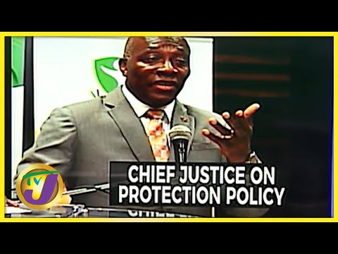 Chief Justice Raises Concern About Protection Policy | TVJ News - Oct 8 2021