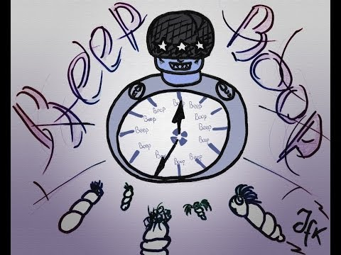 Solly's Beep-Boop Alarm for 15 minutes! (with MP3 ♫)