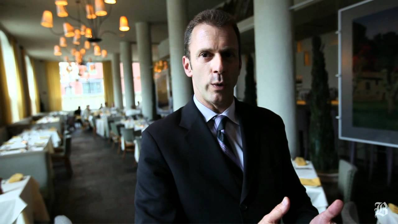 Mistral Bistro general manager Mark DAllessandro discusses restaurant service  YouTube