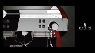 #94 딜리코 반자동 커피머신 엔드원 7 모델링 영상!