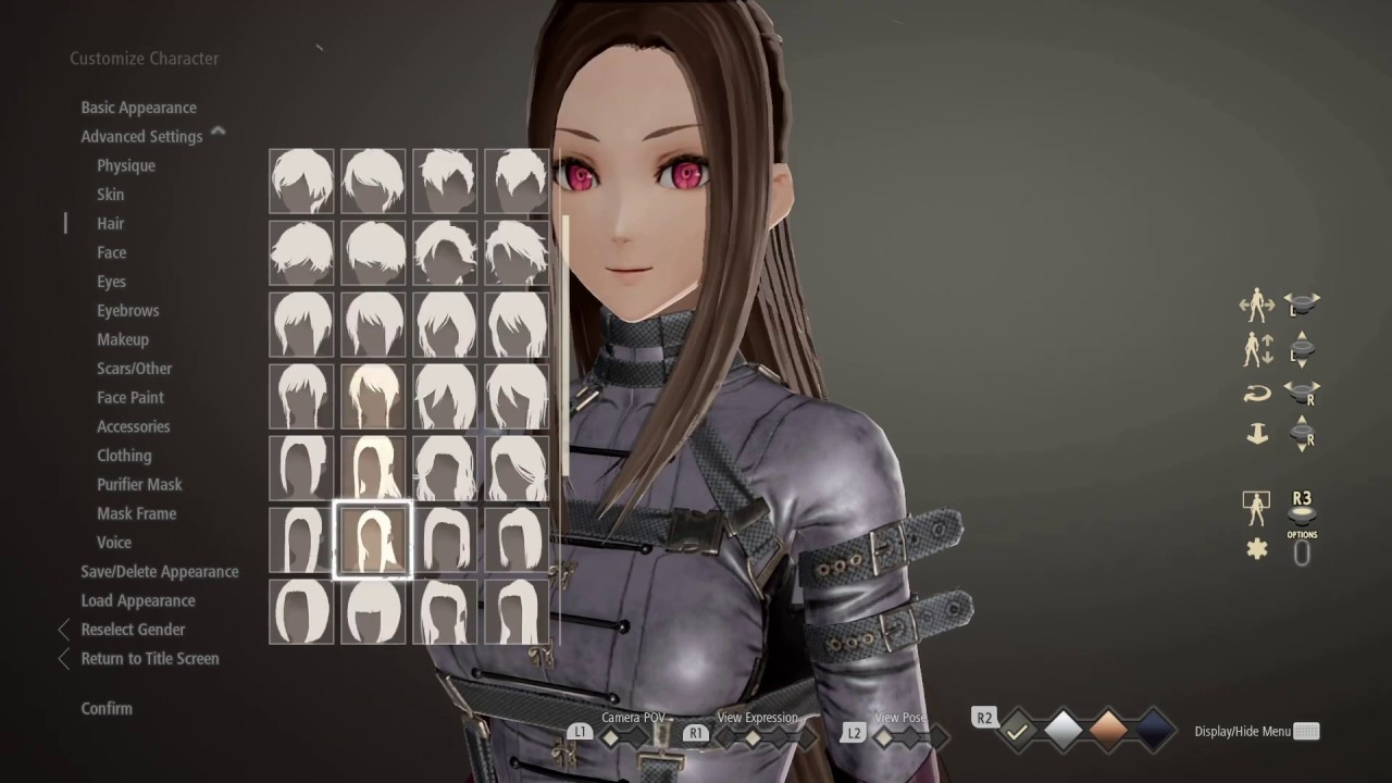Image result for code vein character creation