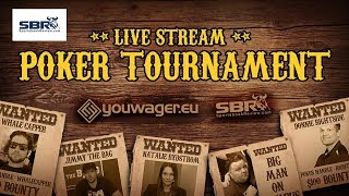 SBR Poker Tournament $1000 Bounty Free Roll | Knock a SBR Personality and Win Cash