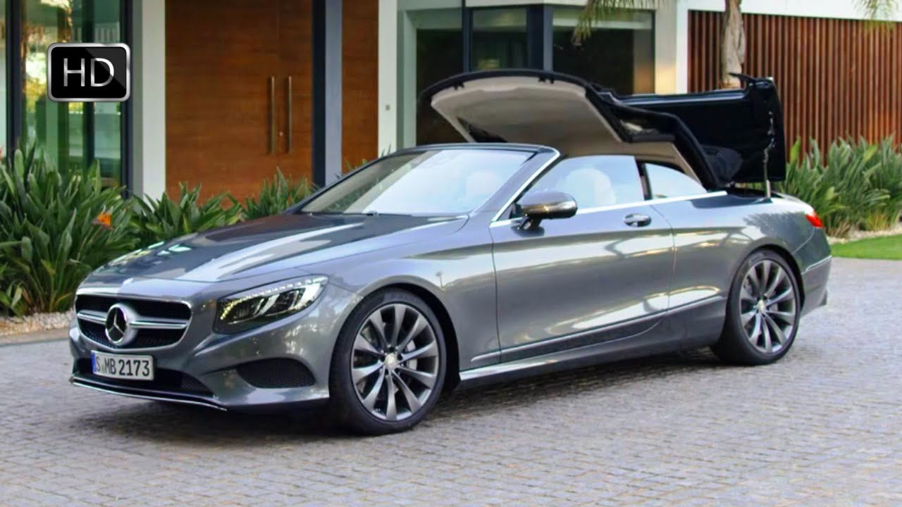 2017 mercedes benz s 500 cabriolet exterior design hd for Mercedes benz r 500