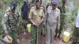 Police nab over 3,000 litres of illicit brew in Nyeri County.