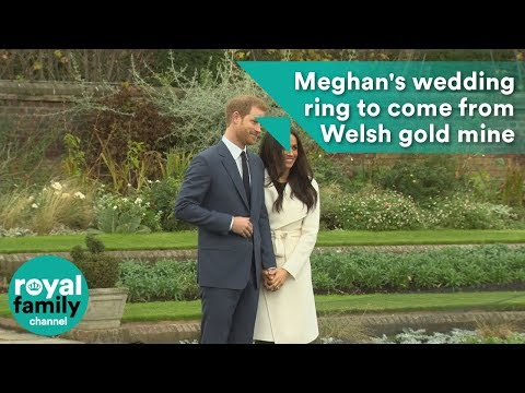 Meghan Markle's Wedding Ring Likely To Come From Small Welsh Gold Mine
