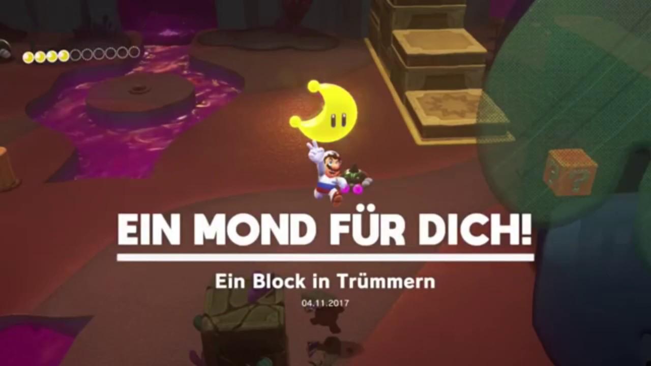 Super Mario Odyssey Verlorenes Land Mond Nr 11 Ein Block In