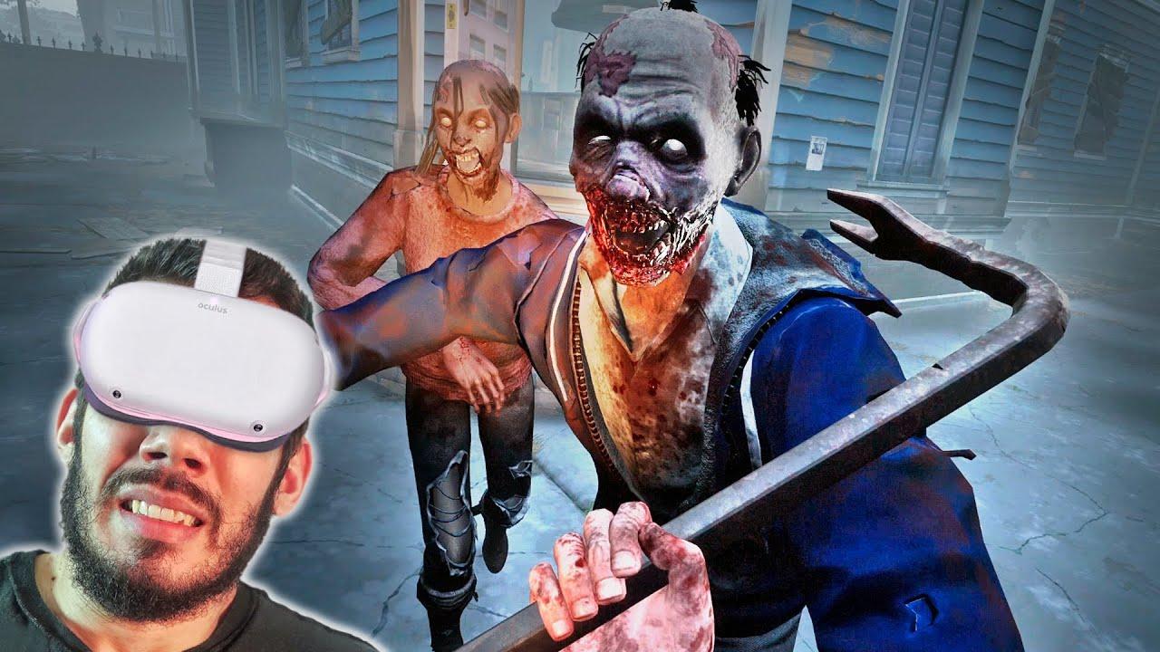 THE WALKING DEAD VR - #2 : OS ZUMBIS me CERCARAM e INVADI UMA FORTALEZA SOZINHO