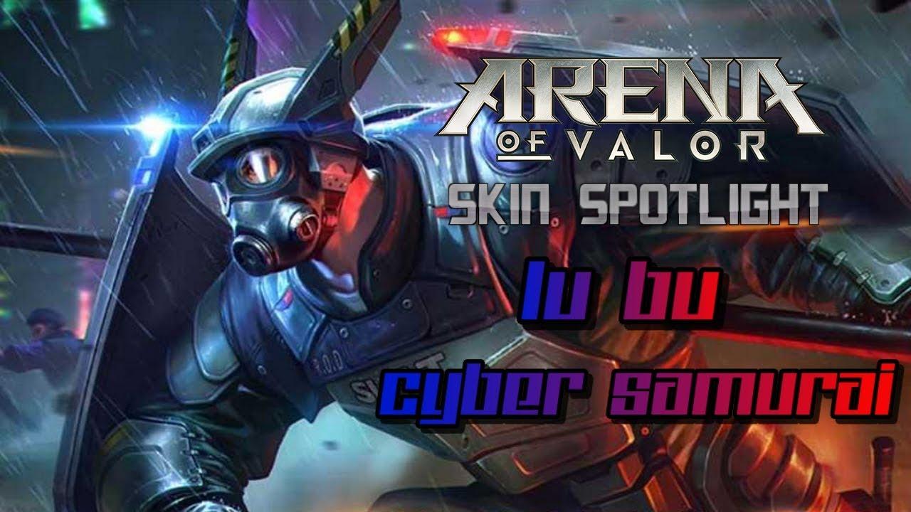 Arena Of Valor Lu Bu Cyber Samurai Skin Spotlight
