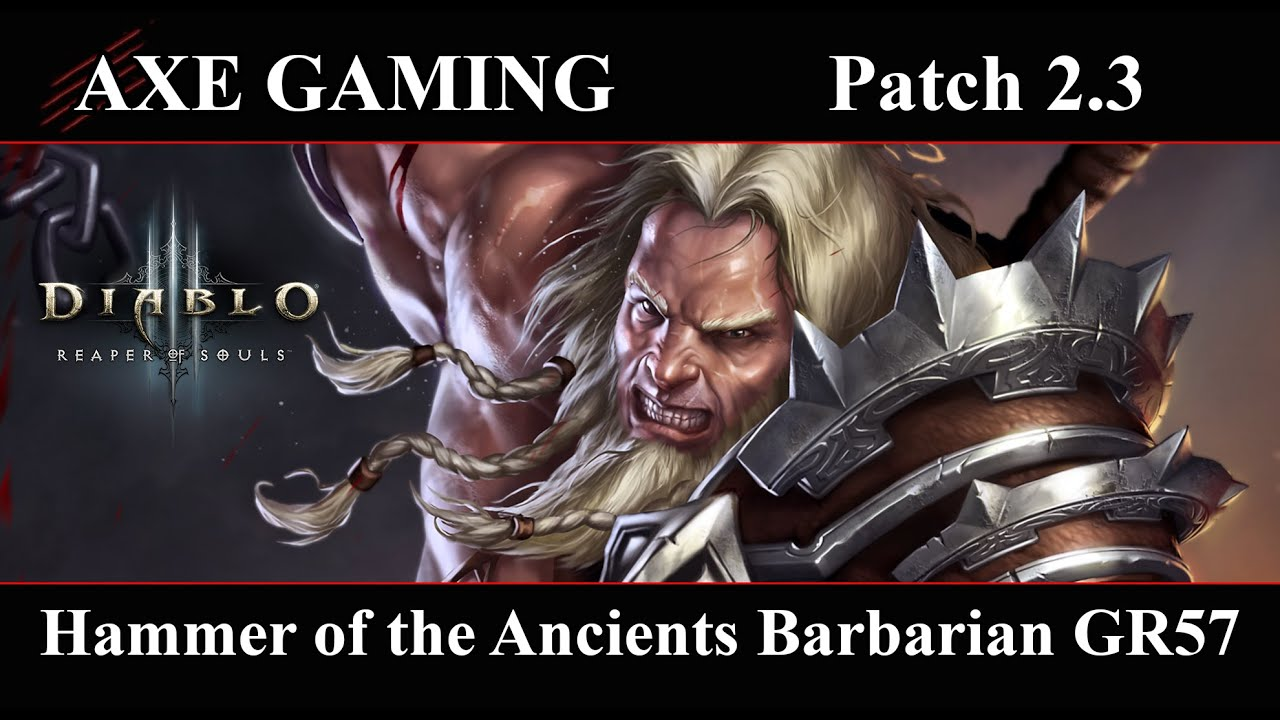 Barbarian Hammer Of The Ancients Build