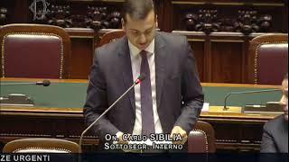 Carlo Sibilia - Risposta all'interpellanza su iniziative per contrastare la criminalità organizzata