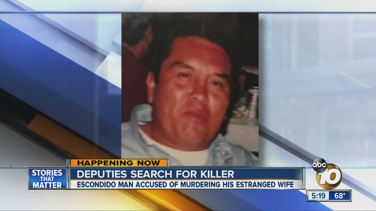 Deputies searching for man accused of killing wife in ...