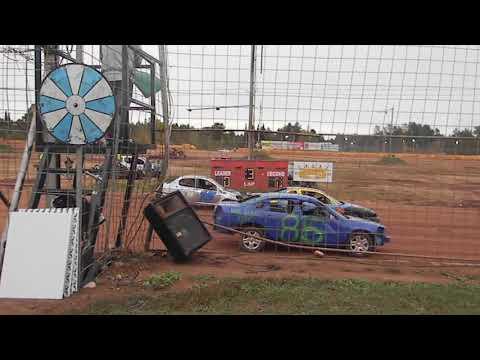 forward backward race heat 3 tomahawk speedway eve 2018