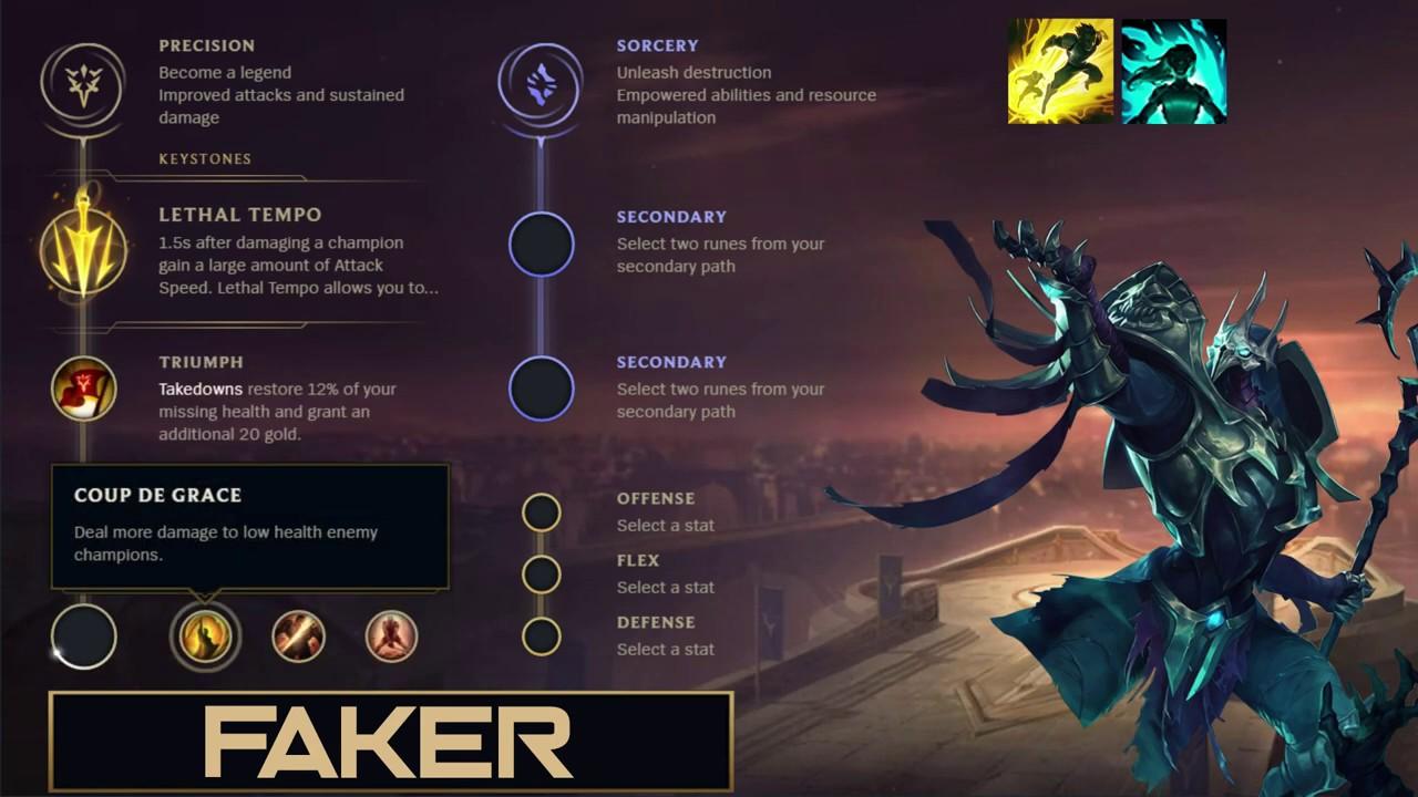 SKT Faker Build Azir - New Runes Season 9 solo vs Anivia (League of Legends  Guide)   Sắt Đoàn