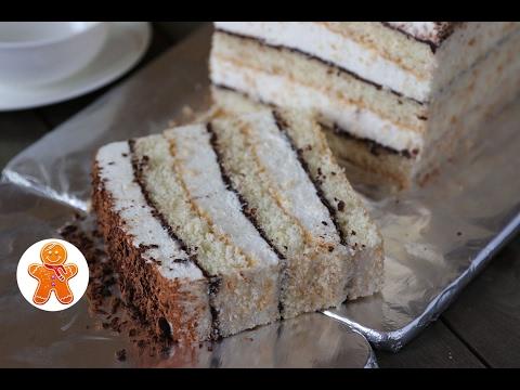 Шоколадный торт с творожно йогуртовым кремом