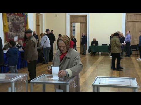 Elections en Ukraine : ouverture des bureaux de vote | AFP Images