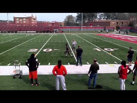 Newberry College Pro Day 2011