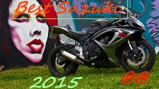 Best Suzuki Bikes (Compilation) 2015 Model @ GSXR 600 1000 750 Sport Bike