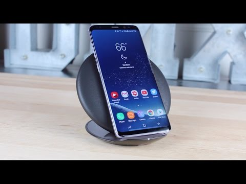 OFFICIAL Samsung Convertible Wireless Charging Stand and Pad Review 30 Minute Charge Test