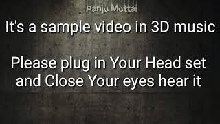 Bogan - BGM.It's a sample video in 3 D music
