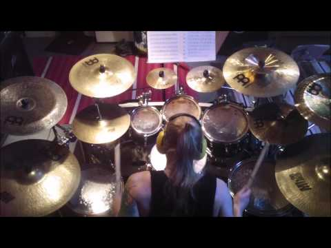 Amon Amarth - Valhall Awaits Me Drum Cover