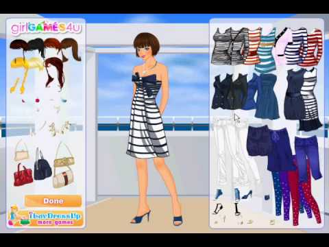 Seaside Fashion Dress up Game Review