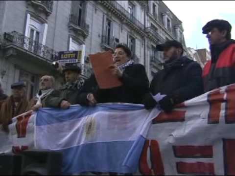 Repudio A La Visita Del Canciller Israelí A La Argentina