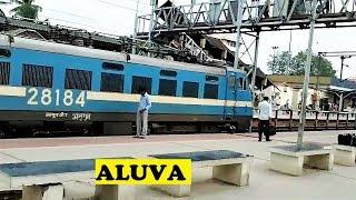 WAP4 Kerala Departs Aluva Angul WAG7
