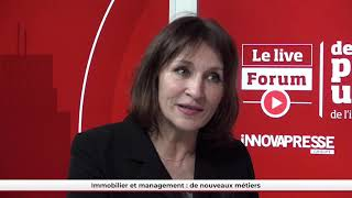 FPU LIVE - Prof. Ingrid Nappi (Essec) - Immobilier et management : de nouveaux métiers