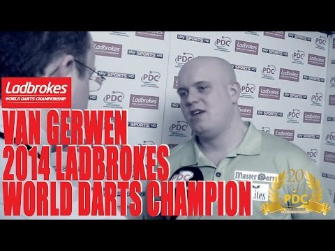 INTERVIEW: New Ladbrokes World Darts Champion Michael van Gerwen